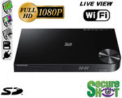 Secure Shot HD Live View Samsung BD E5300 BluRay Player Spy Camera/DVR