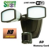 SecureShot HD-Live View-High Definition LED Motion Flood Light